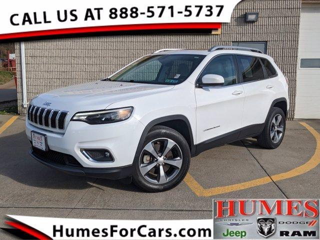 used 2019 Jeep Cherokee car, priced at $25,997