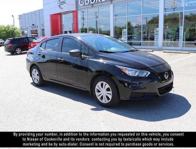 used 2020 Nissan Versa car, priced at $18,942