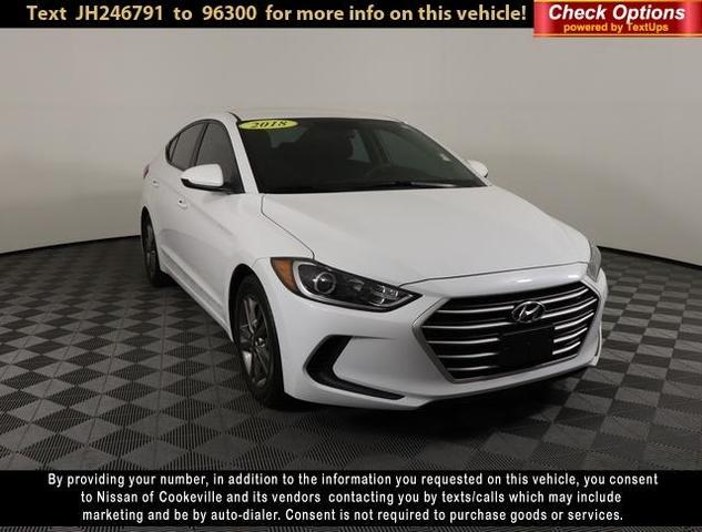 used 2018 Hyundai Elantra car, priced at $14,789