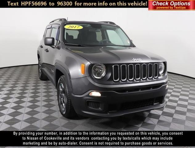 used 2017 Jeep Renegade car, priced at $15,872