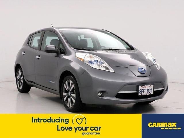 used 2015 Nissan Leaf car, priced at $13,599