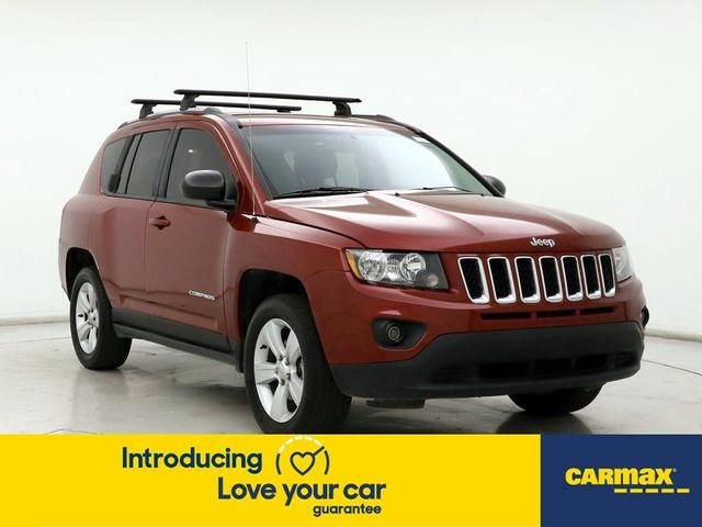 used 2017 Jeep Compass car, priced at $14,599