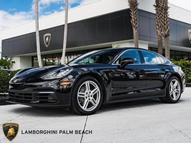 used 2018 Porsche Panamera car, priced at $92,951