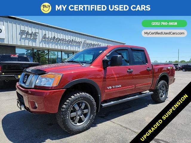 used 2015 Nissan Titan car, priced at $30,000