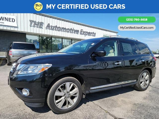 used 2014 Nissan Pathfinder car, priced at $19,300