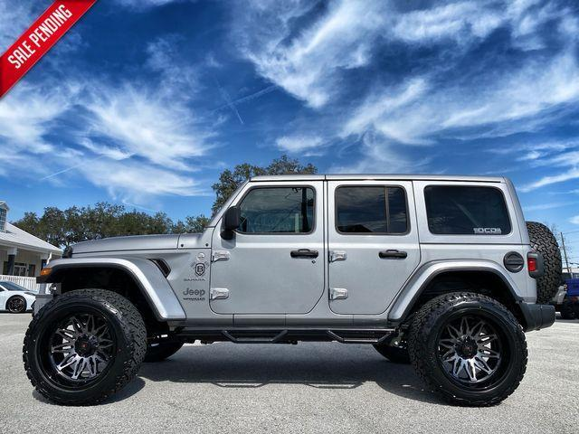 used 2020 Jeep Wrangler Unlimited car, priced at $57,890