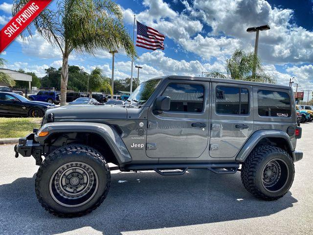 used 2020 Jeep Wrangler Unlimited car, priced at $56,890