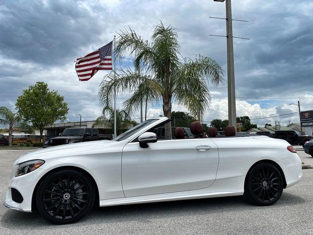 used 2017 Mercedes-Benz C-Class car, priced at $45,890