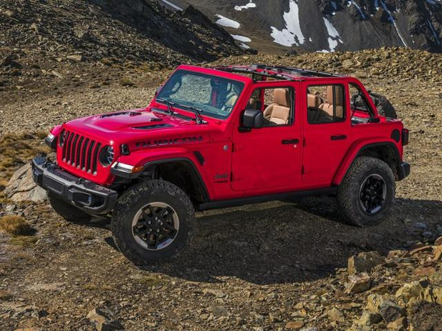 used 2021 Jeep Wrangler Unlimited car