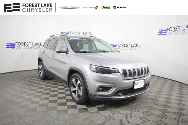 used 2019 Jeep Cherokee car, priced at $18,990