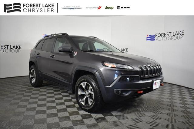 used 2014 Jeep Cherokee car, priced at $18,790