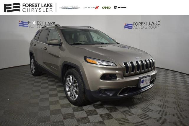 used 2018 Jeep Cherokee car, priced at $22,995