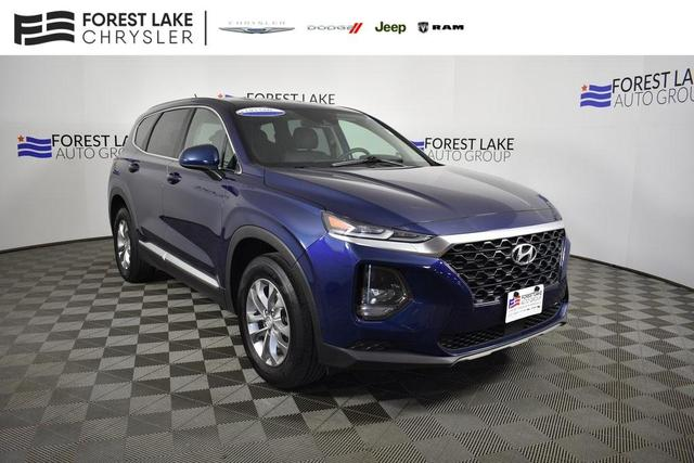 used 2019 Hyundai Santa Fe car, priced at $21,290