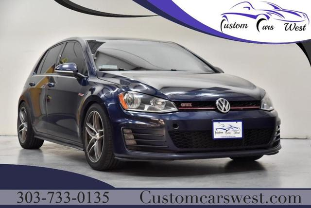 used 2016 Volkswagen Golf GTI car, priced at $16,977