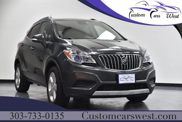 used 2016 Buick Encore car, priced at $18,477