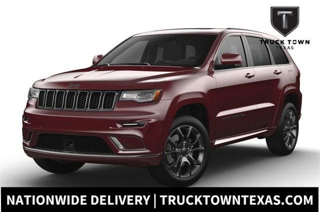 new 2021 Jeep Grand Cherokee car, priced at $58,480