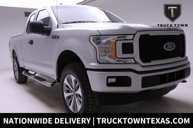 used 2018 Ford F-150 car, priced at $30,800