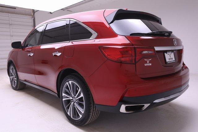 used 2019 Acura MDX car, priced at $36,300