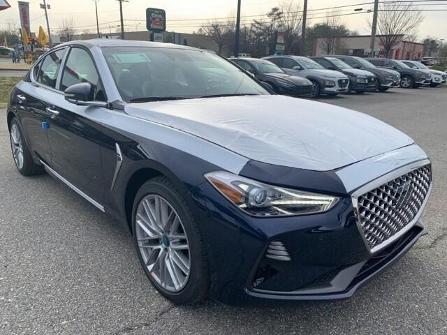 new 2021 Genesis G70 car, priced at $43,925