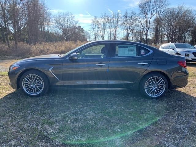 new 2021 Genesis G70 car, priced at $43,850