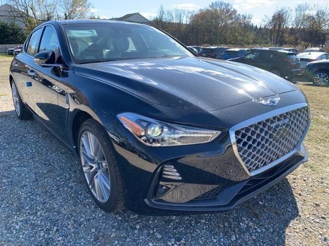 new 2021 Genesis G70 car, priced at $43,970