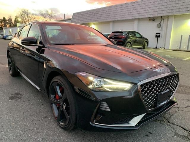 new 2021 Genesis G70 car, priced at $53,820