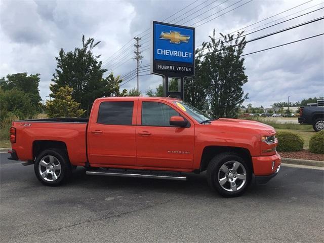 used 2018 Chevrolet Silverado 1500 car, priced at $43,730