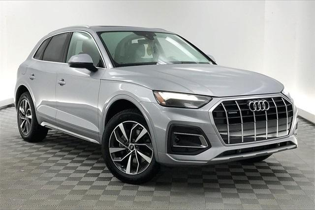 new 2021 Audi Q5 car, priced at $49,190