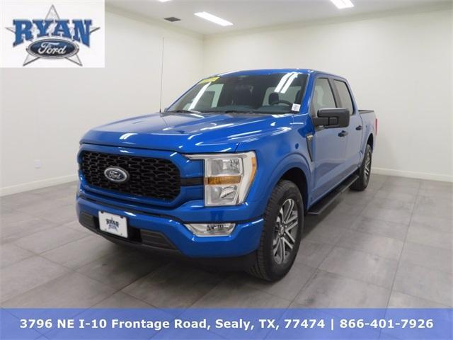 new 2021 Ford F-150 car, priced at $40,695