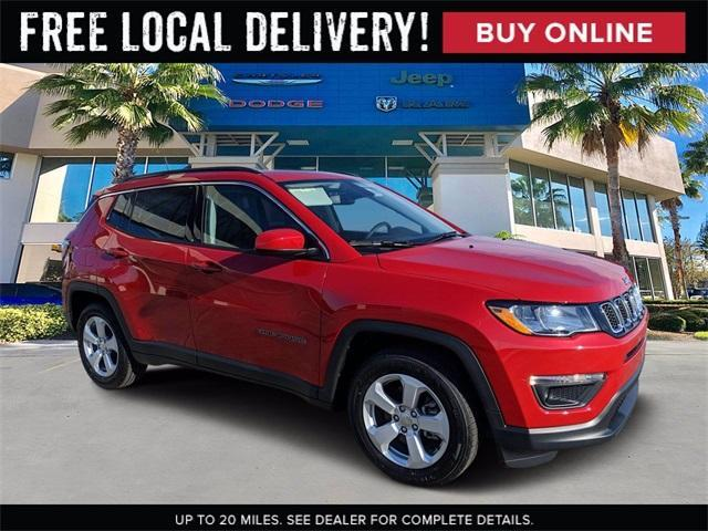 new 2021 Jeep Compass car, priced at $28,686