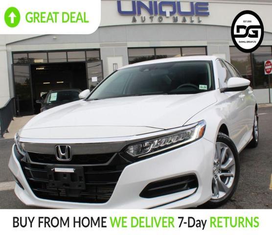 used 2018 Honda Accord car, priced at $17,740