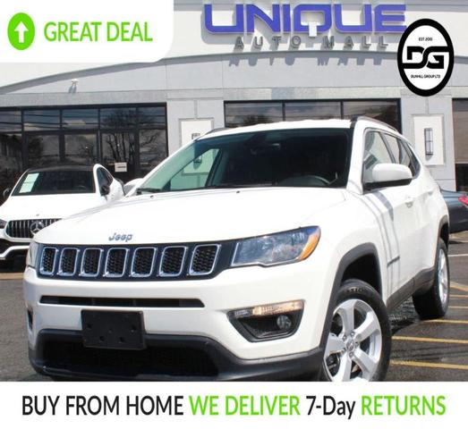 used 2018 Jeep Compass car, priced at $18,990