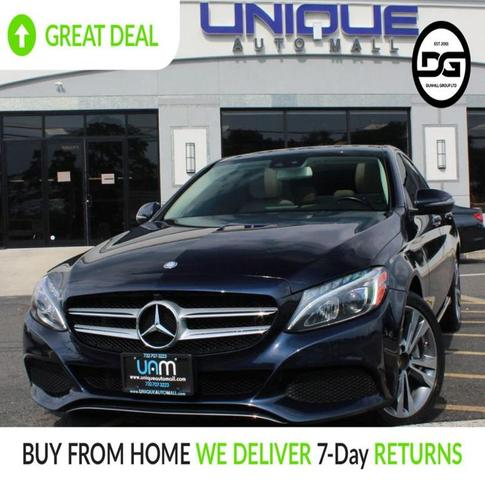 used 2017 Mercedes-Benz C-Class car, priced at $20,890