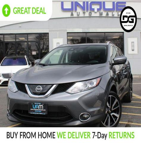 used 2017 Nissan Rogue Sport car, priced at $18,240