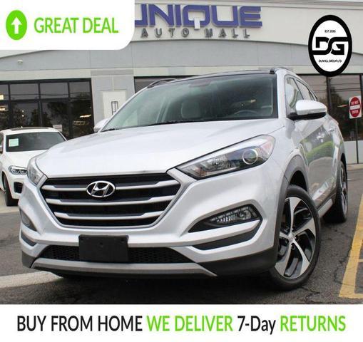 used 2018 Hyundai Tucson car, priced at $20,980