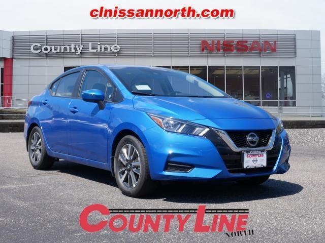 new 2021 Nissan Versa car, priced at $19,216
