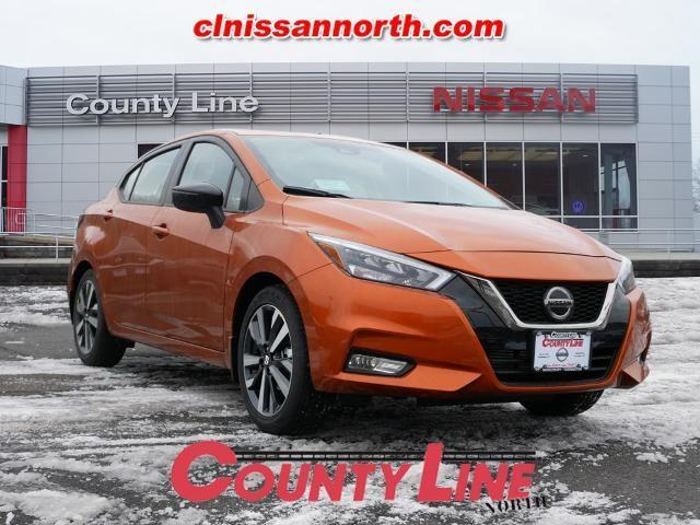 new 2021 Nissan Versa car, priced at $20,449