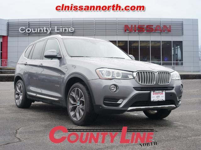 used 2016 BMW X3 car, priced at $17,781
