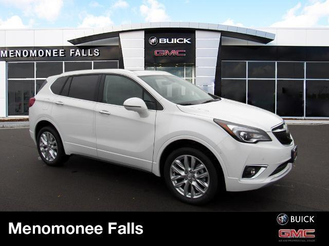 new 2020 Buick Envision car, priced at $46,587
