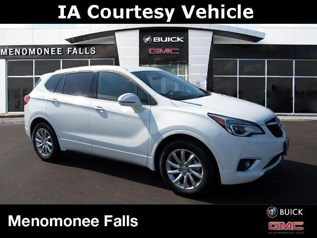 new 2020 Buick Envision car, priced at $35,420