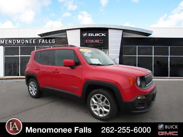used 2017 Jeep Renegade car, priced at $18,897