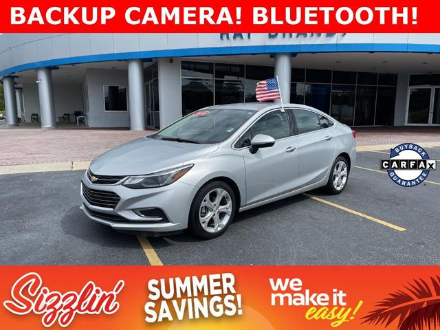 used 2018 Chevrolet Cruze car, priced at $22,495
