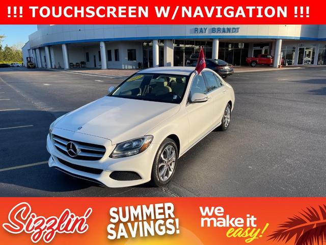 used 2017 Mercedes-Benz C-Class car, priced at $28,977