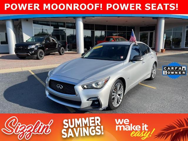 used 2018 INFINITI Q50 car, priced at $28,977