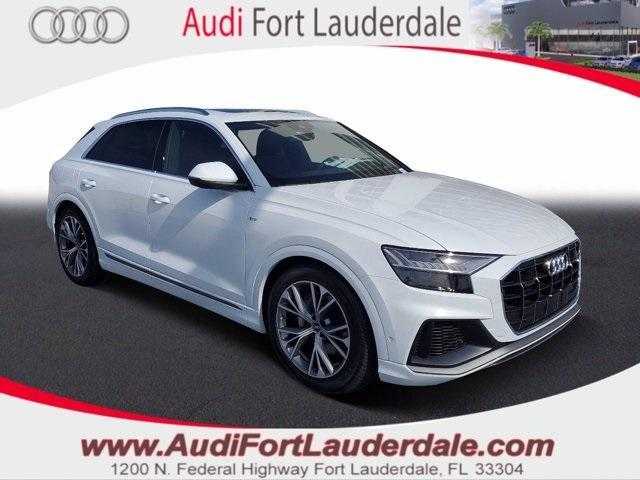new 2021 Audi Q8 car, priced at $84,605