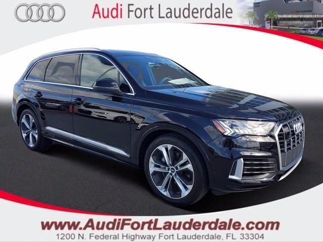 new 2021 Audi Q7 car, priced at $75,715