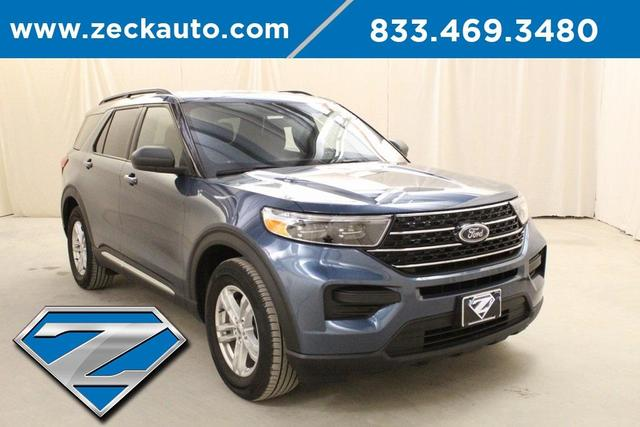 used 2020 Ford Explorer car, priced at $30,500