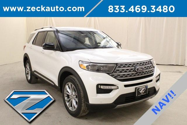 new 2021 Ford Explorer car, priced at $48,795