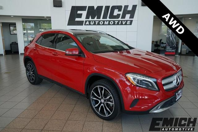 used 2015 Mercedes-Benz GLA-Class car, priced at $16,999