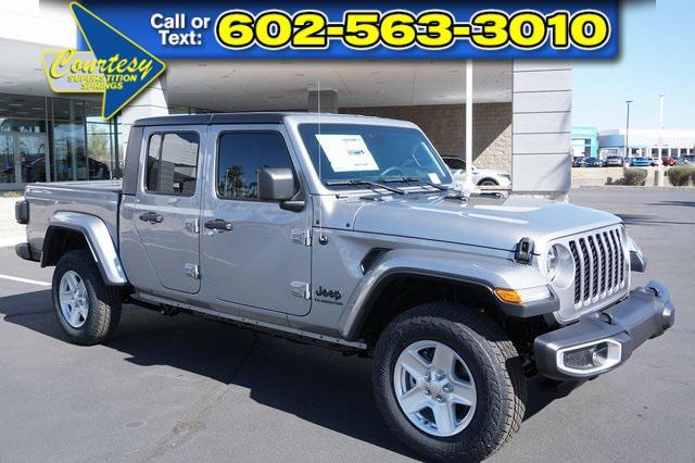 new 2021 Jeep Gladiator car, priced at $50,775
